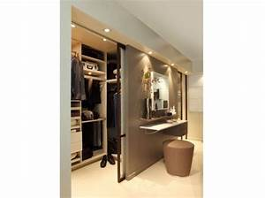 Faire Dressing Dans Une Chambre : decoration chambre avec dressing ~ Premium-room.com Idées de Décoration