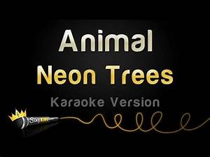 Neon Trees Animal Karaoke Version