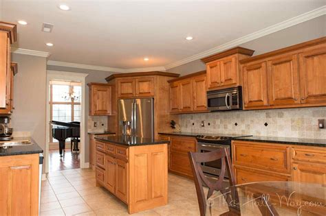 kitchen wall color ideas with maple cabinets deductour