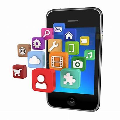 App Icons Smartphone Isolated Icon Phone Clipart