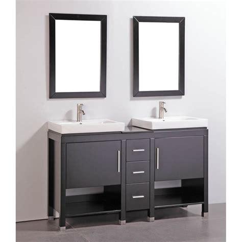 granite top   double sink bathroom vanity