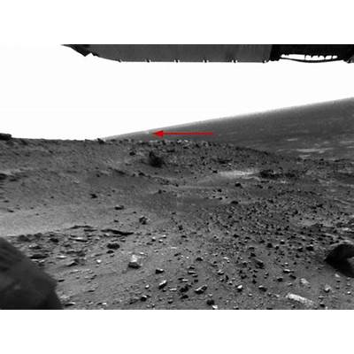 APOD: 2005 March 23 - A Dust Devil Swirling on Mars