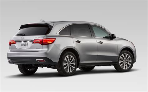 2014 acura mdx rear photo 1