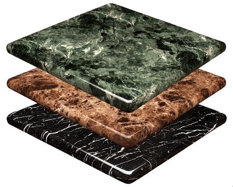 marble and granite restaurant commercial tabletops