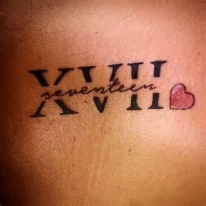 Cool Roman Numeral Tattoos