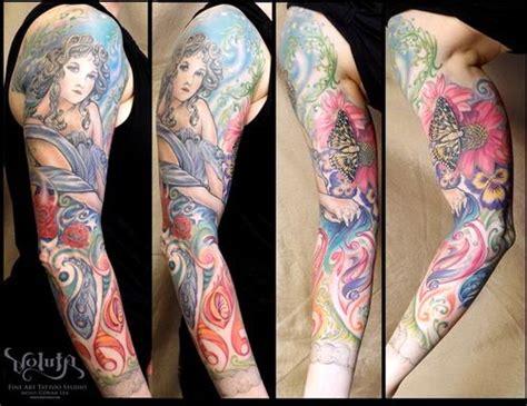 jugendstil tattoo kuenstler tattoosideencom