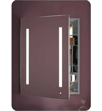 Robern Medicine Cabinet With Lights - robern ac2430d4p1r aio 24 quot wide single door medicine
