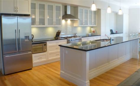 Black Granite Bench Tops by Traditional Kitchens Inavogue