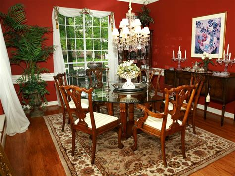 10+ Red Dining Room Designs, Decorating Ideas