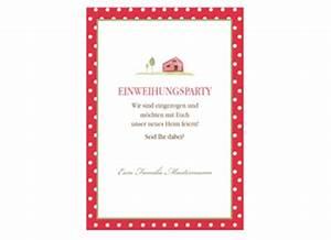 Einladung Zur Einweihung : einladung einweihung friendly red ~ Lizthompson.info Haus und Dekorationen