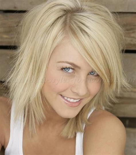 medium length hairstyles for straight hair   layered