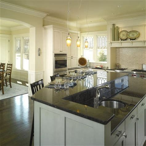 kitchen designs with 2 level islands photos   4,518 multi