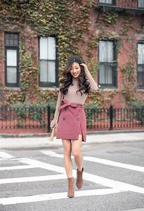 Cute Fall Skirt (under $50!) + Suede jacket - Extra Petite