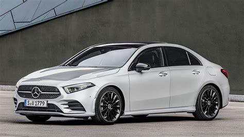 mercedes benz a class sedan 2018 revealed car news