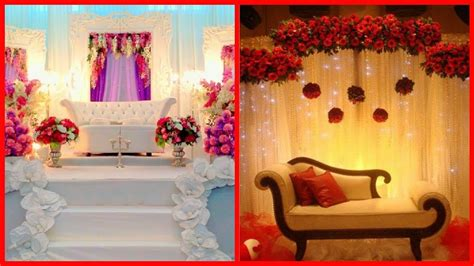 amazing wedding stage decoration ideas awesome youtube