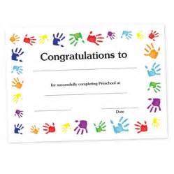 Free Printable Preschool Diploma Certificates