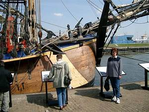 Photos Of Replica Of HM Bark Endeavour Of James Cook