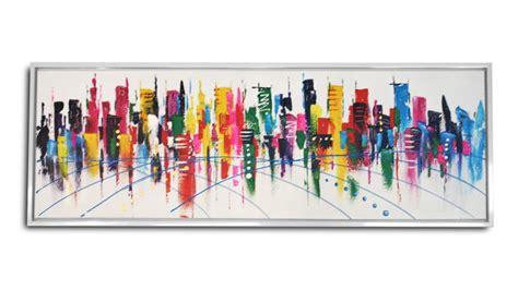 canapé moderne tableau valki peinture à l 39 huile 150x50 cm mobilier moss