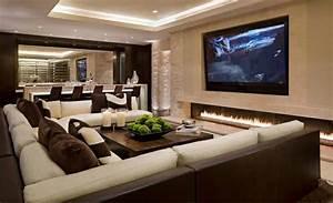 Wohnzimmer Einrichten Brauntöne : einrichtungsideen wohnzimmer braun ~ Watch28wear.com Haus und Dekorationen