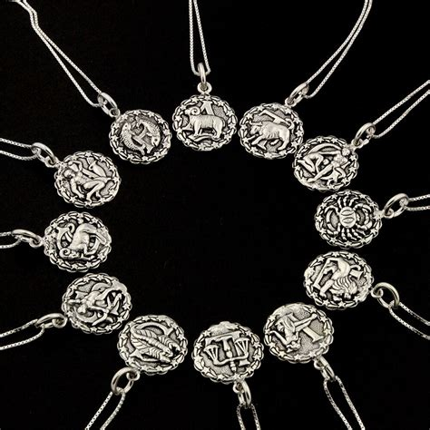 Sterling Silver Astrology Zodiac Symbol Sign Necklace 925. Studded Bracelet. Cubic Zirconia Jewelry. 3mm Necklace. Bow Bracelet. Baller Chains. Apatite Earrings. Brown Topaz Rings. Mens Black Rings