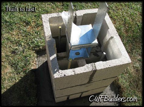 4x4 Post Into Square Base - Building & Construction - DIY ...