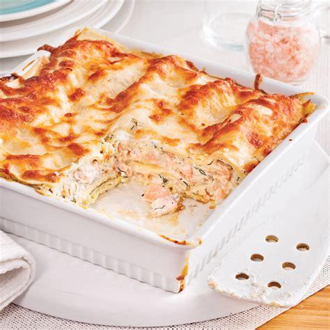 cuisine facile a faire lasagne au saumon facile à faire recettes cuisine et