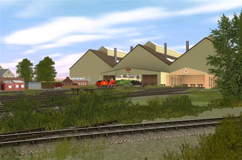 The Tidmouth Shed by Tidmouth Sheds Rws Edition By Fizzledfirebox On Deviantart