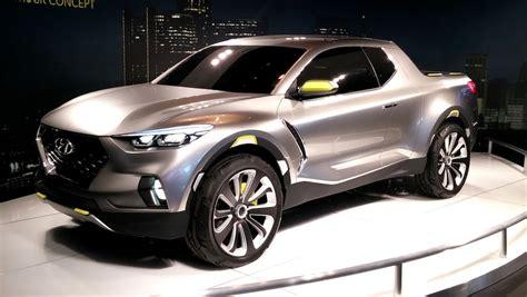 Hyundai Santa Cruz Crossover Pickup Truck Concept Youtube