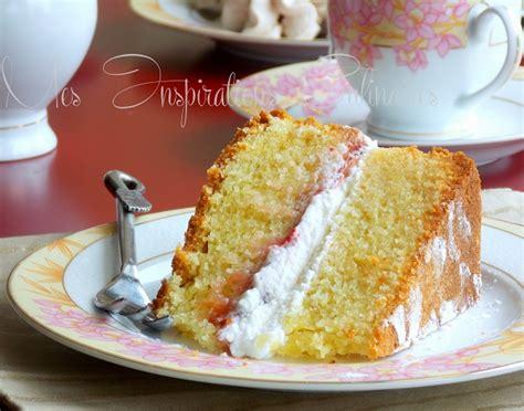 blogs de recettes de cuisine recette sponge cake le cuisine de samar