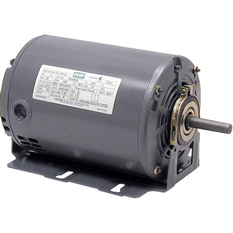 Replacement Electric Motors by Leeson Fan And Blower Electric Motor 1 2 Hp 1 725 Rpm