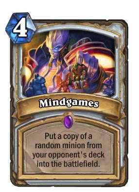 Lorewalker Cho Rogue Deck by Lorewalker Cho Plays Mindgames Hearthstone Decks