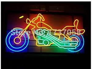 Motorcycle Motorbike Bike Neon Sign Light Store Display