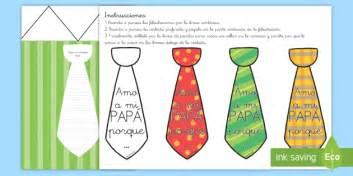 Manualidad: Felicitación de corbata Día del Padre día