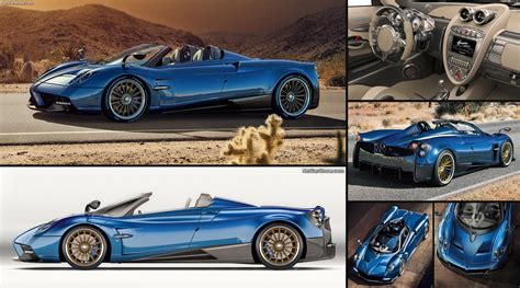 pagani huayra roadster  pictures information specs