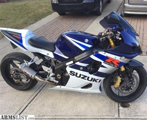 2004 Suzuki Gsxr 1000 For Sale by Armslist For Sale Trade 2004 Suzuki Gsx R 1000