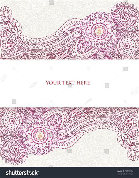 henna banner stock vector  shutterstock