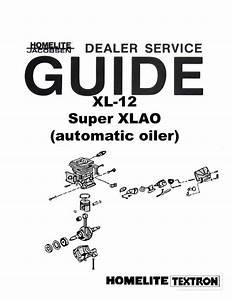 Homelite Super Ez Chainsaw Manual