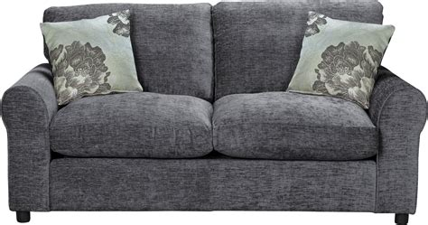 2 Seater Sofa Argos by Argos Home Tessa 2 Seater Fabric Sofa Bed Charcoal
