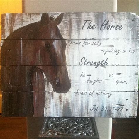 horse pallet project horses wood crafts