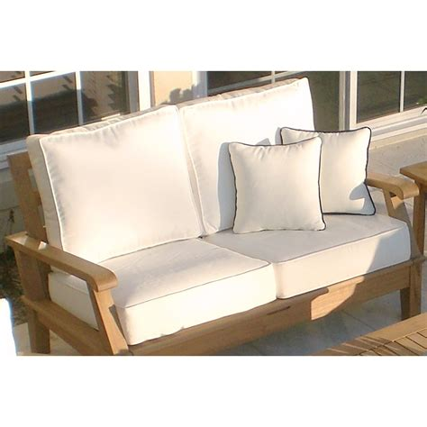 Wicker Settee Cushion Sets by Cushions Wicker Settee Cushions For Cozy Your Furniture