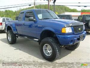 2003 Ford Ranger Edge Supercab 4x4 In Sonic Blue Metallic