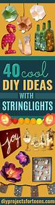 40 Diy Ideas With String Lights
