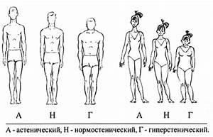 Бекмансуров Х.   Основные типы телосложения учащихся ...