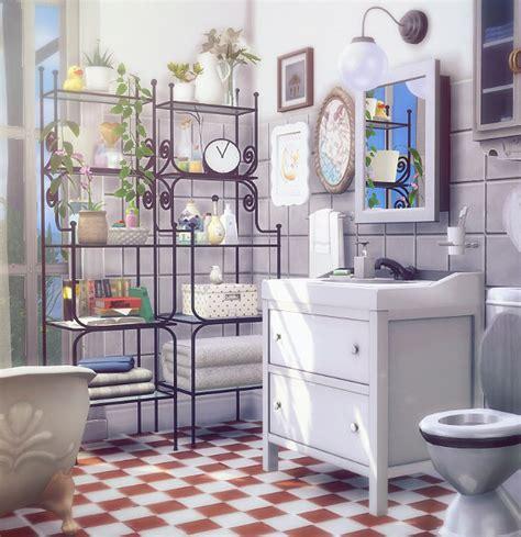 Ikea Badezimmer Inspiration by Sims 4 Cc S The Best Ikea Inspiration Bathroom Shelves