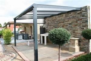 Terrassenuberdachung veranda carport 500x350 cm aus for Terrassenüberdachung mit montage