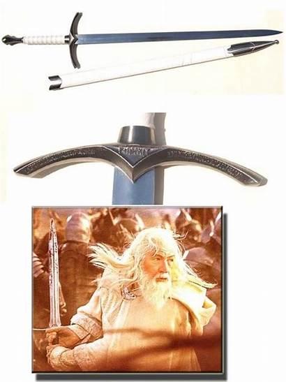 Gandalf Rings Lord Scabbard Sword Los Anillos