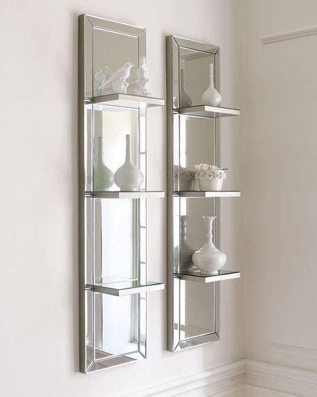 Bedroom Mirrors With Shelf by Mirrored Shelf Wall Panel