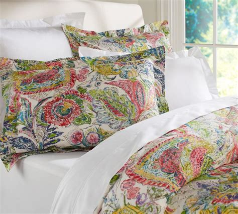 organic bedding from pottery barn