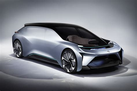 Car Design Concepts : Autonomous Car Start-up Nio Unveiled Its Self-driving