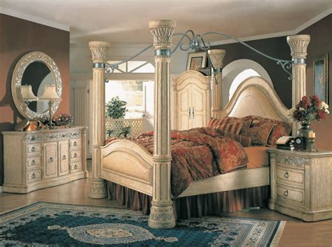 Wood Canopy Bedroom Sets by Margaret King Poster Canopy Bed 5 Bedroom Set